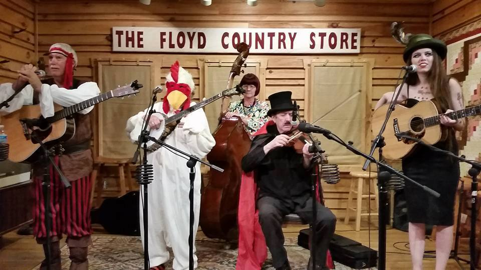 Visit Floyd Virginia Halloween Old Time Dance At The Floyd Country