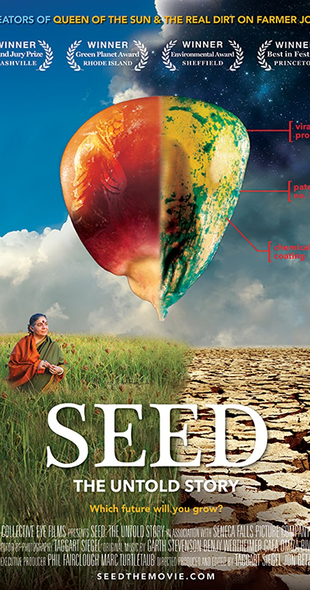 the untold story Few things on earth are as miraculous and vital as seeds worshipped and treasured since the dawn of humankind seed: the untold story follows passionate seed keepers protecting our 12,000 year-old food legacy.