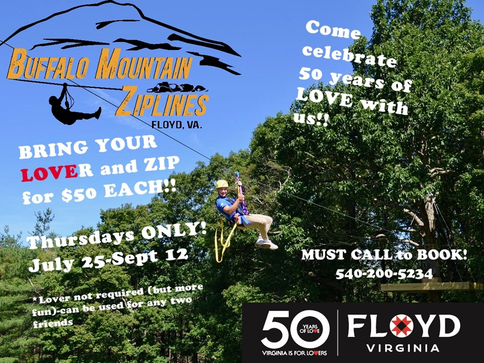 Visit Floyd Virginia | 50 Years of Love – Special happenings